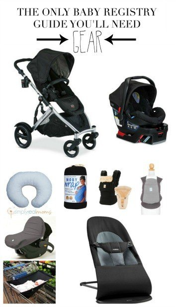 The Only Baby Registry Guide You'll Need Gear