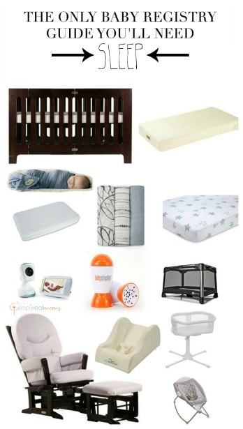 The Only Baby Registry Guide You'll Need Sleep