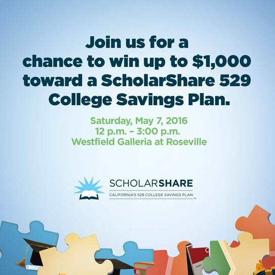 ScholarShare Coming The Westfield Galleria