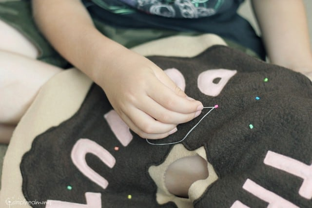 Sewing The Big Donut