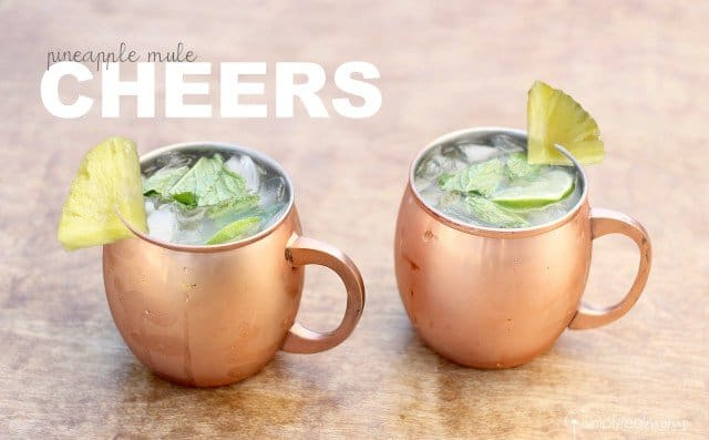 Two Pineapple Mules