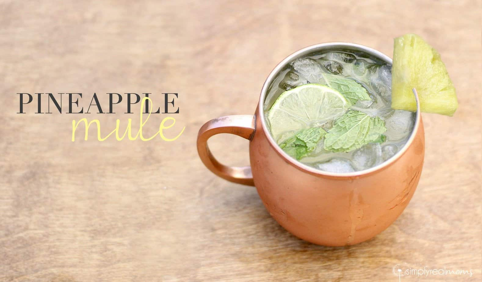 Delicious Pineapple Mule