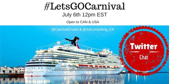 LetsGoCarnival Twitter Party