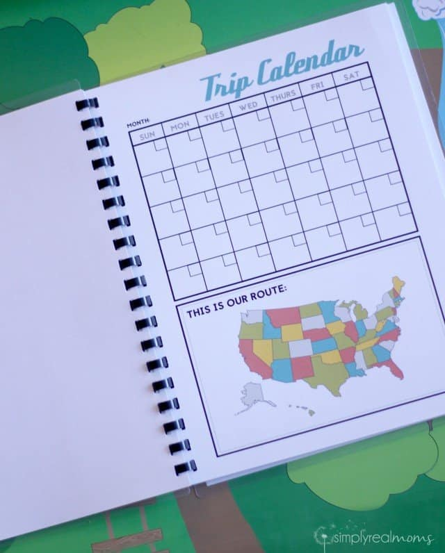 DIY Printable Kids' Travel Journal