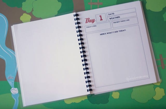 Free Printable Pages for a Kids' Travel Journal