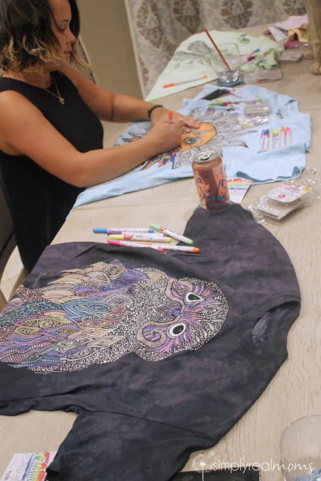 Coloring T-Shirts from Colorwear