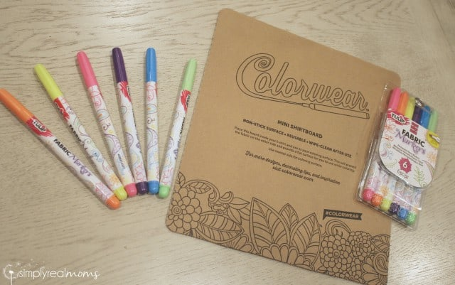 Colorwear shirtboard & markers
