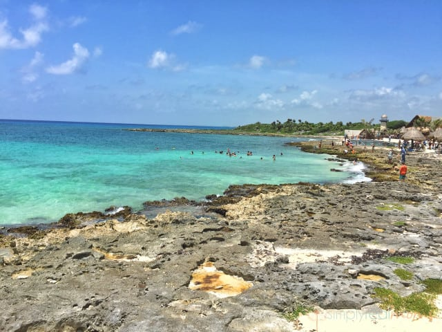 Costa Maya port view