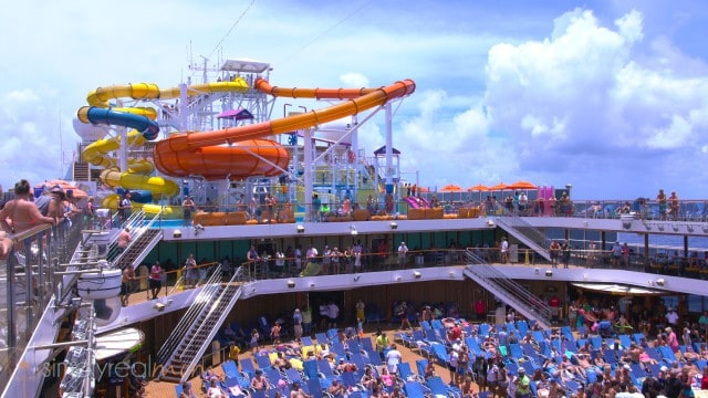 Lido deck, carnival magic