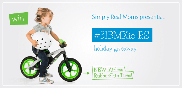 Simply Real Moms BMXie GIVEAWAY