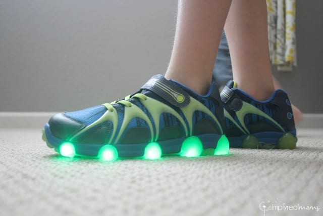 Stride Rite Leepz are the coolest light up shoes!