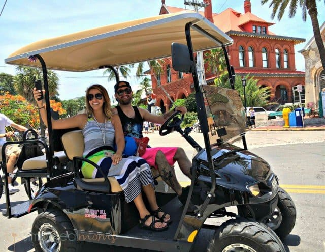 golf cart rentals at cruise ports