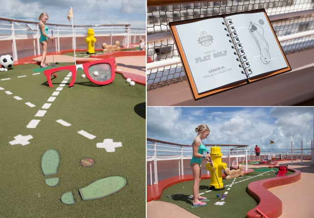 disney cruise miniature golf