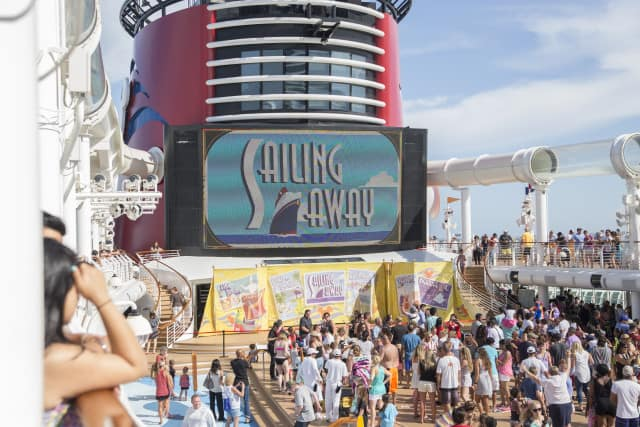 disney cruise sailing away party