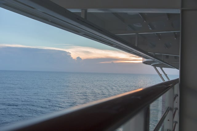 Disney Cruise sunset