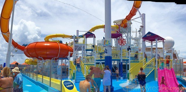 waterpark on carnival cruise