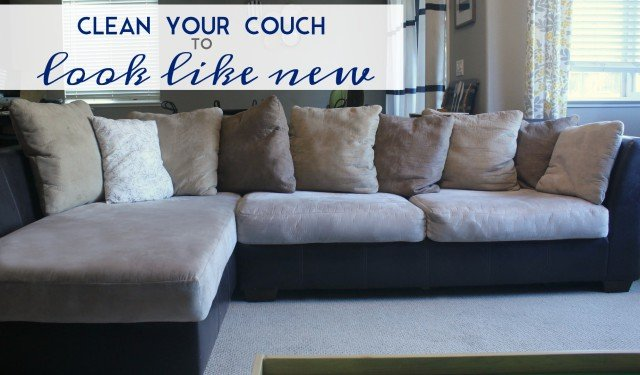 Clean your couch to look like new
