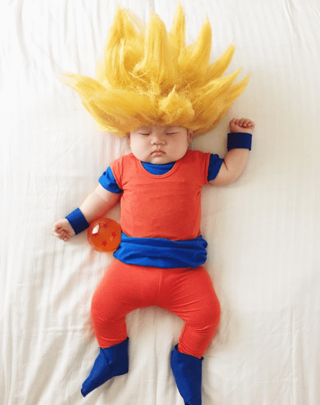 mom-dresses-up-her-baby-in-adorable-costumes-while-she-naps-dragon-ballz