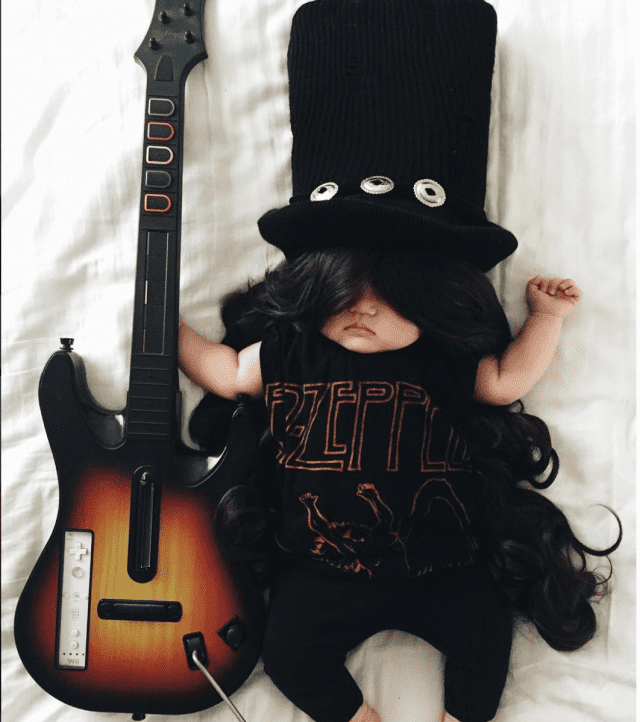 mom-dresses-up-her-baby-in-adorable-costumes-while-she-naps-guns-n-roses