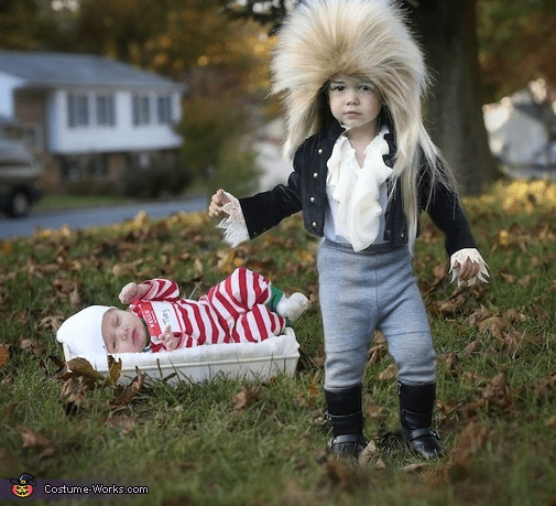Jareth Toby From Labrynth Sibling Costume Idea