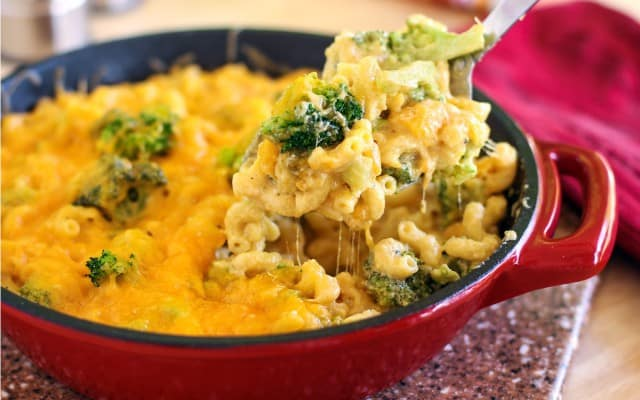 broccoli mac and cheese