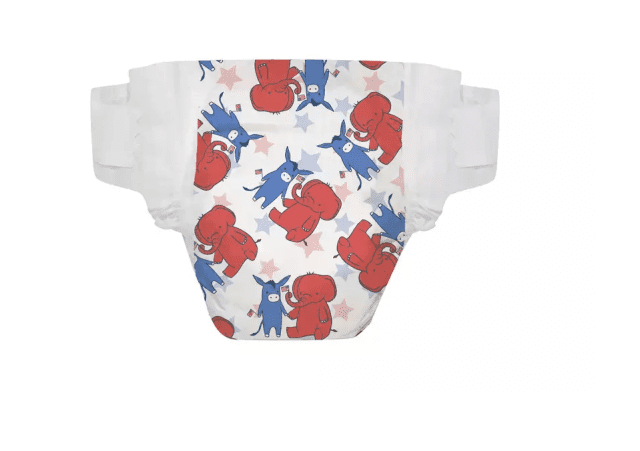 trendy diapers honest co election