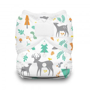 trendy diapers thirsties forest