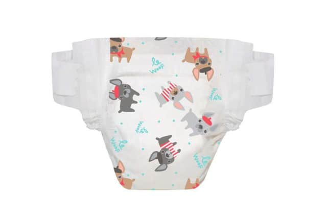 trendy diapers honest co le woof
