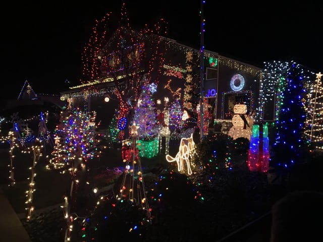 Best Christmas Decorations In Northern Nj : Best christmas lights displays in northern california