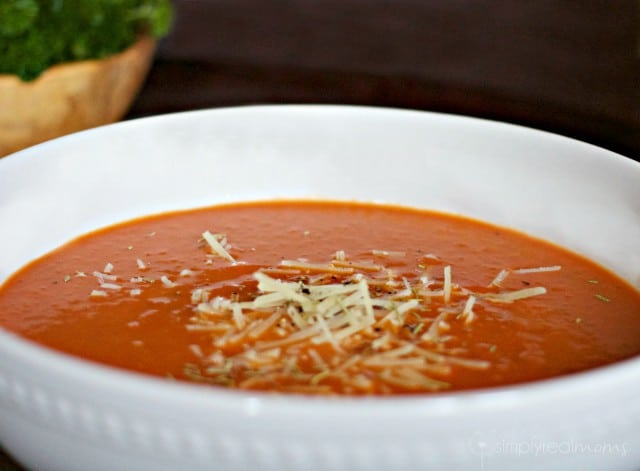 how to make simple homemade tomato soup