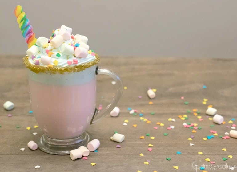 Adorably Delicious Unicorn Hot Chocolate