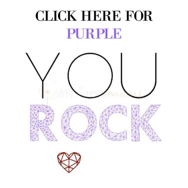 YOU ROCK PURPLE