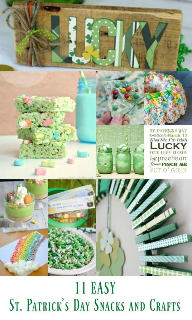 11 Easy St. Patrick's Day Snacks and Crafts