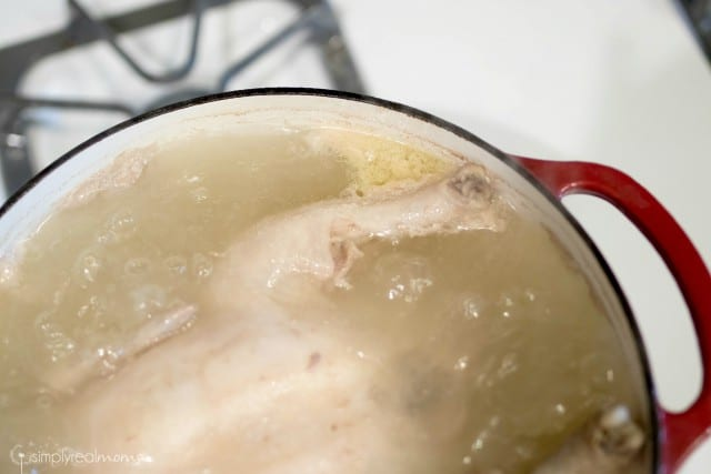 Making your own chicken stock