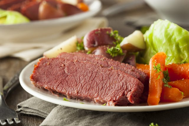 The BEST Corned Beef & Cabbage