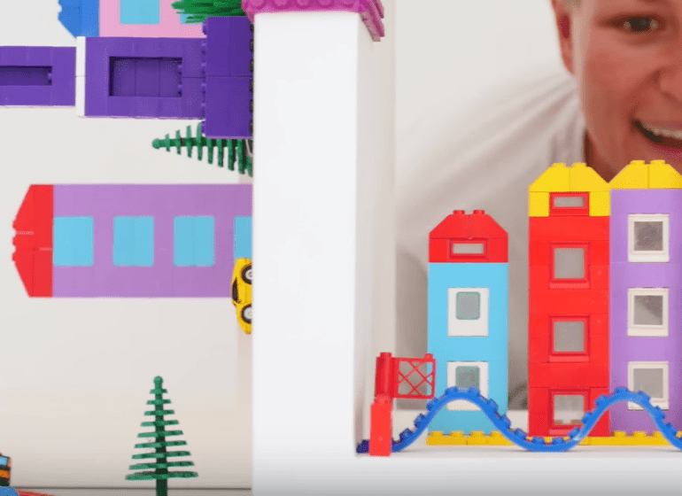 This Tape Turns Anything Into a Lego-Friendly Surface