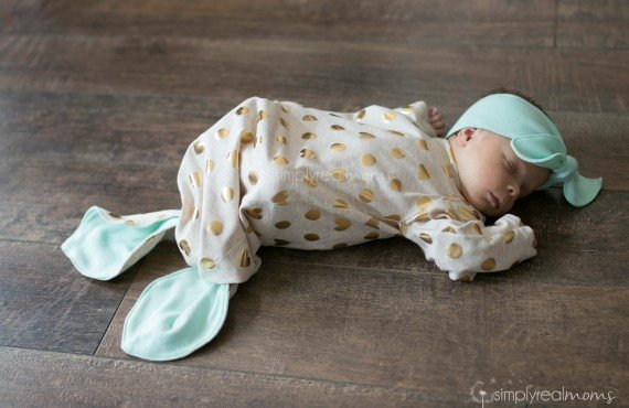 Gorgeous baby mermaid gown