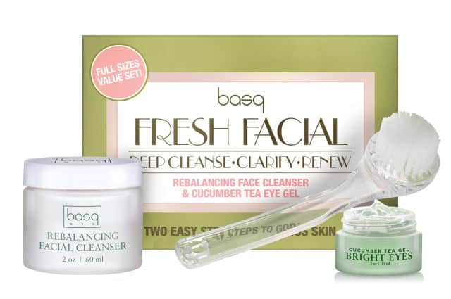 Basq NYC Skincare's Fresh Face Kit