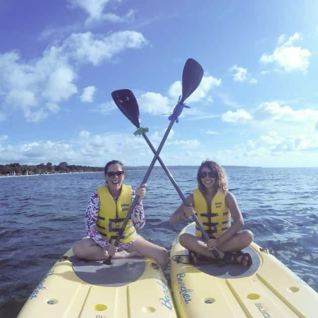 Paddleboarding at Beaches Negril