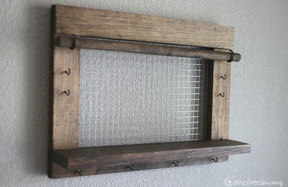 Farmhouse Jewelry Organizer