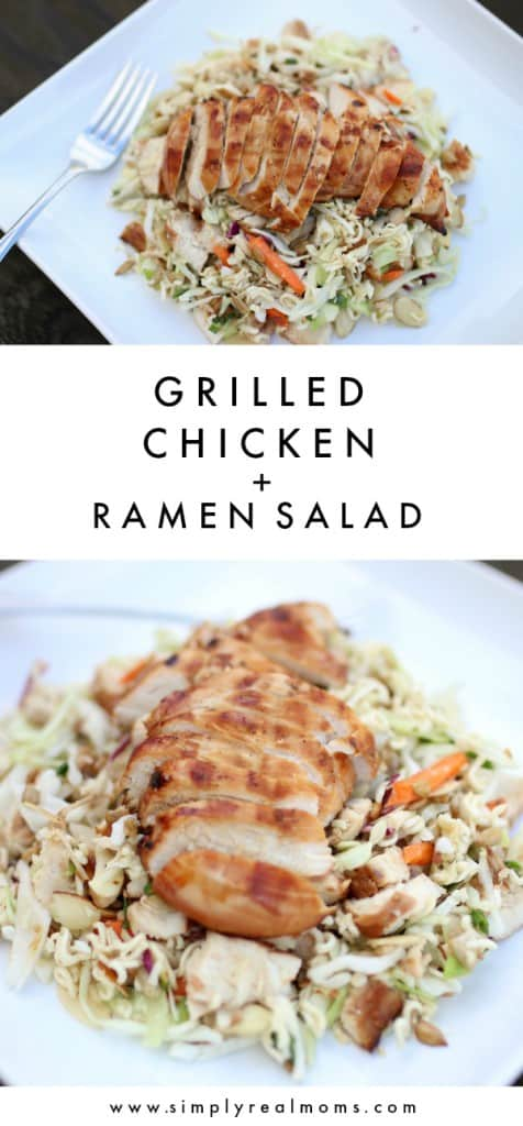 Grilled Chicken + Ramen Salad