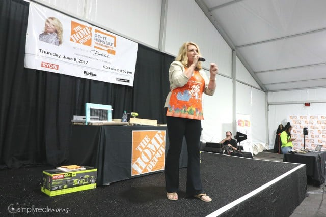 Home Depot Do It Herself Event Hosted By Delilah