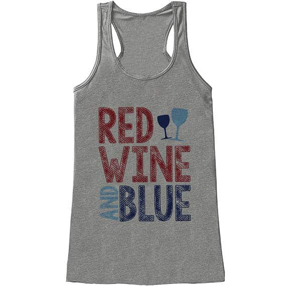 Red Wine & Blue