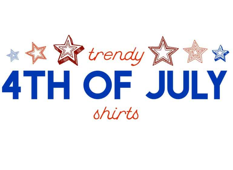 Trendy 4th of July Shirts