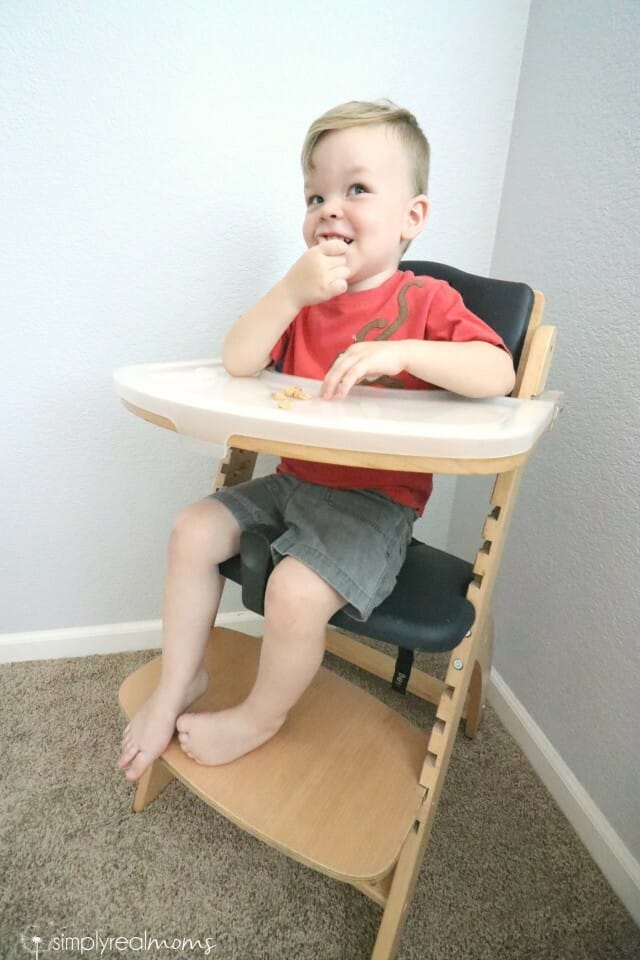 abiie junior y the high chair that grows with your child
