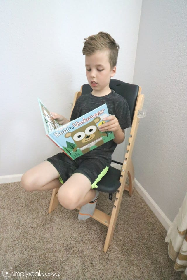 Abiie High Chair grows with your child!