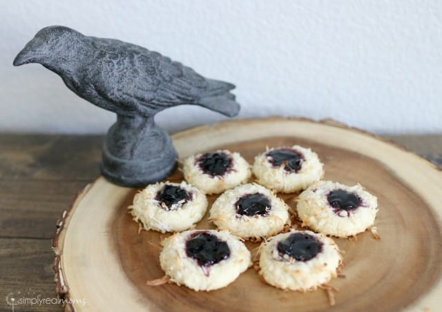 Blackbird's Nest Thumbprint Cookies