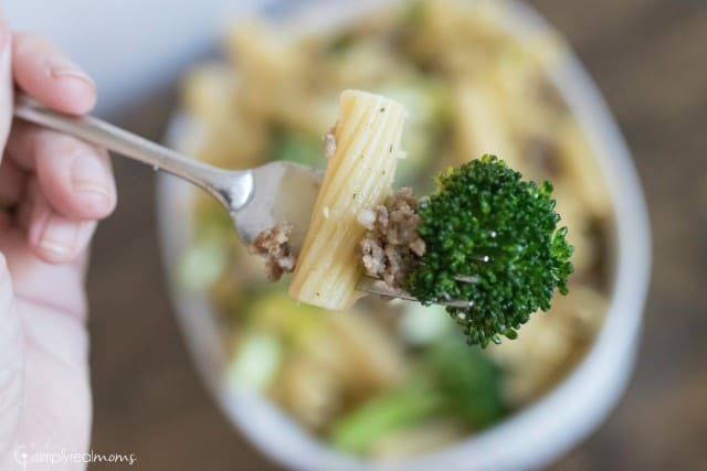 Fresh Broccoli + Sausage Rigatoni