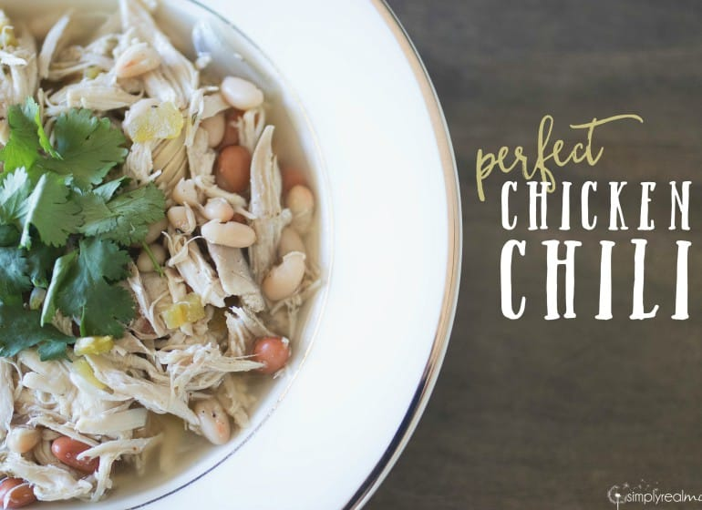 The PERFECT Chicken Chili