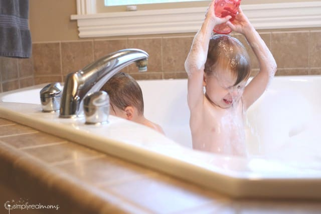 Toddlers are safe washing with Baby Magic